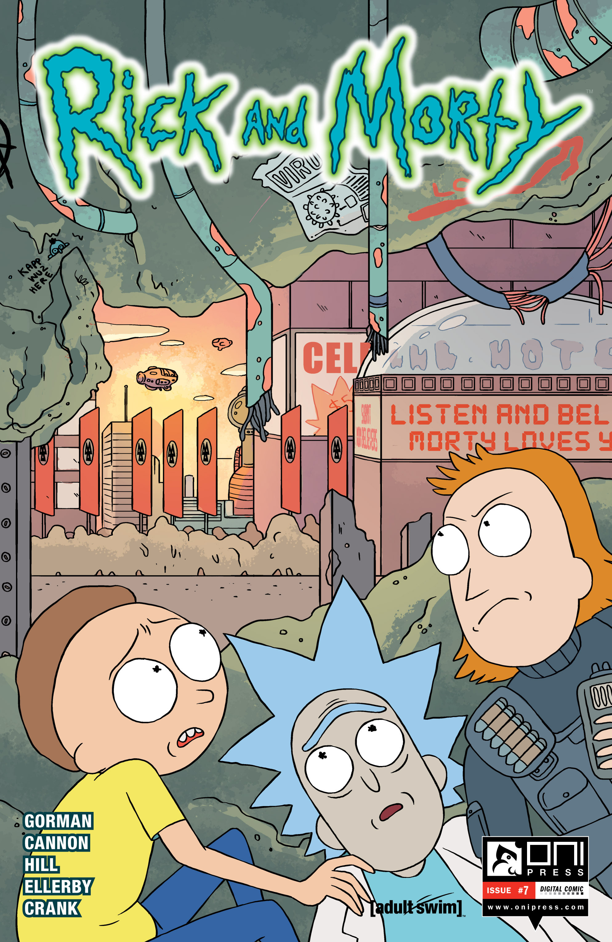 Rick and Morty #2 - CovrPrice