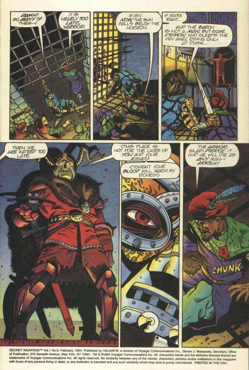 Read online Secret Weapons comic -  Issue #6 - 4