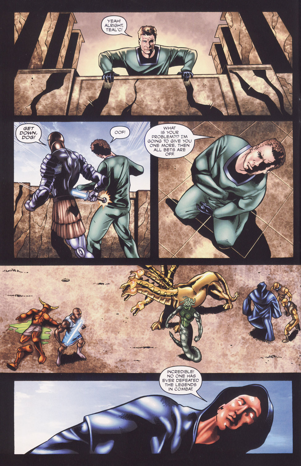 Read online Stargate SG-1: Fall of Rome comic -  Issue #3 - 6