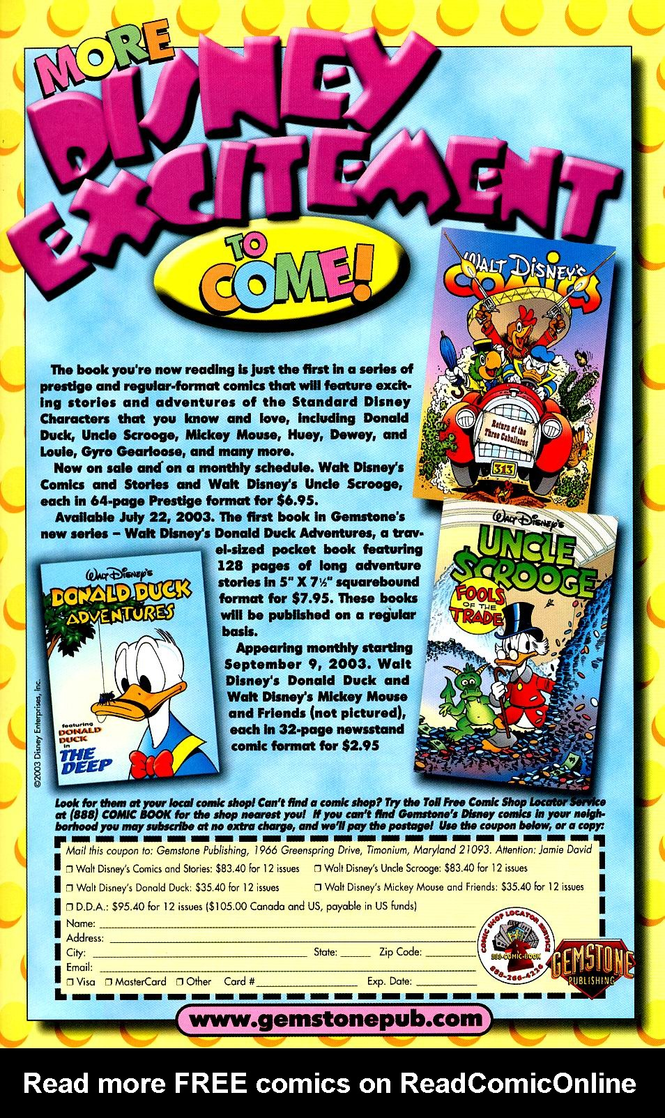 Read online Uncle Scrooge (1953) comic -  Issue #319 - 41