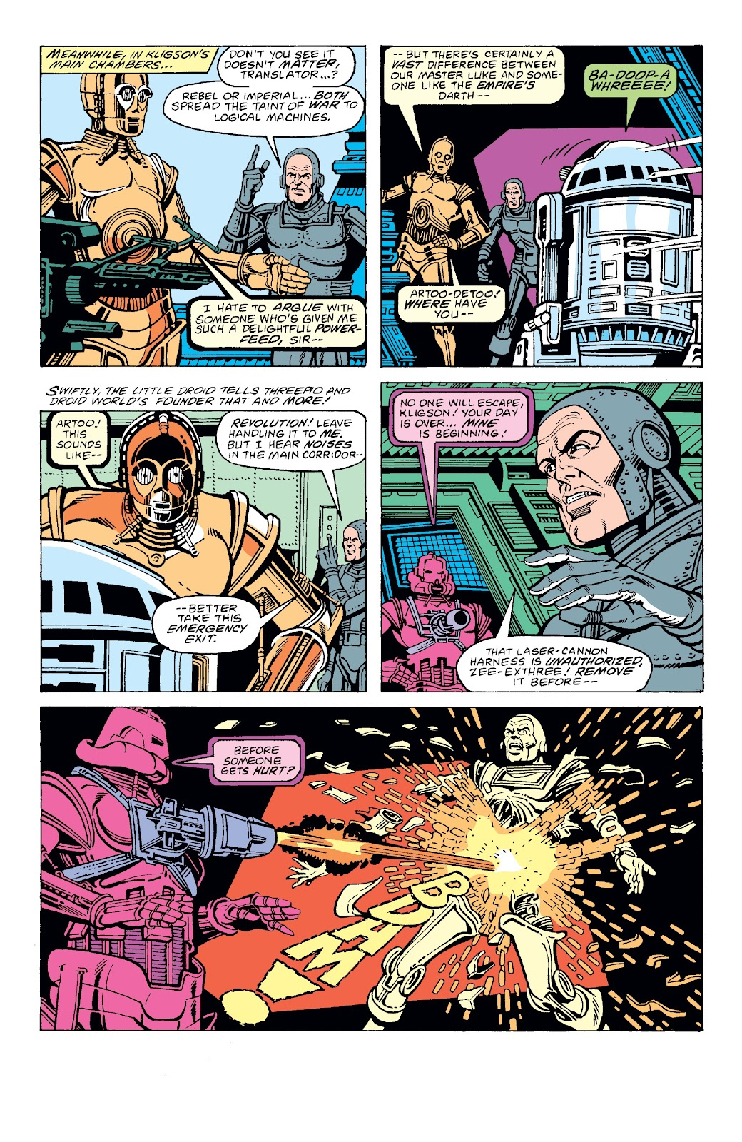 Read online Star Wars Legends: The Original Marvel Years - Epic Collection comic -  Issue # TPB 3 (Part 2) - 74