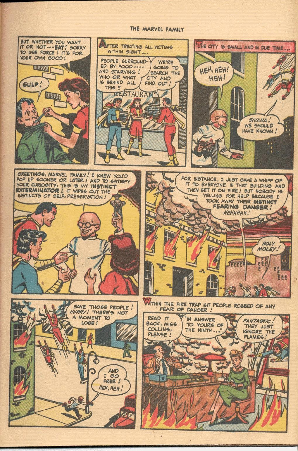 The Marvel Family issue 38 - Page 7