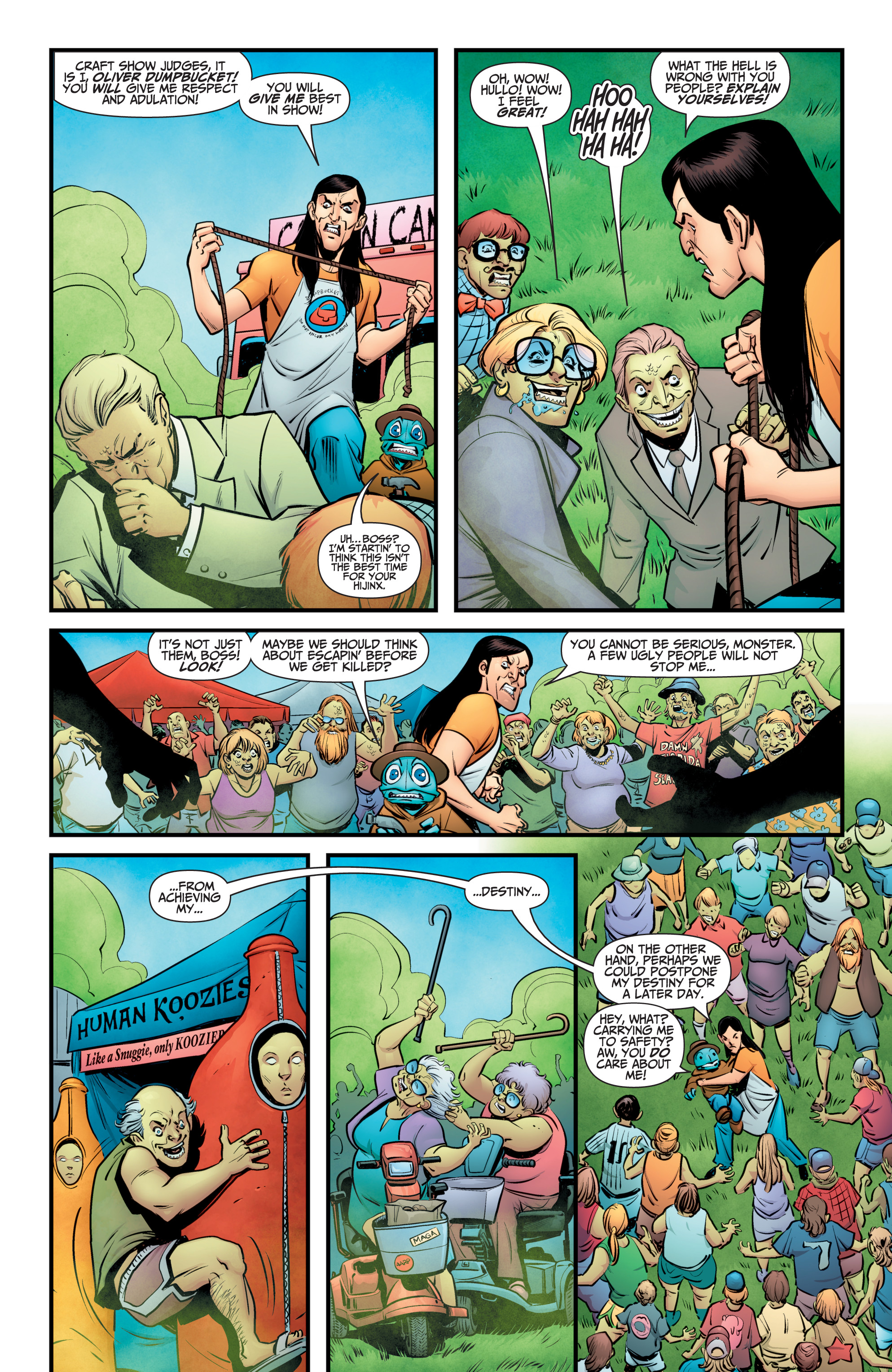 Read online A&A: The Adventures of Archer & Armstrong comic -  Issue #11 - 9