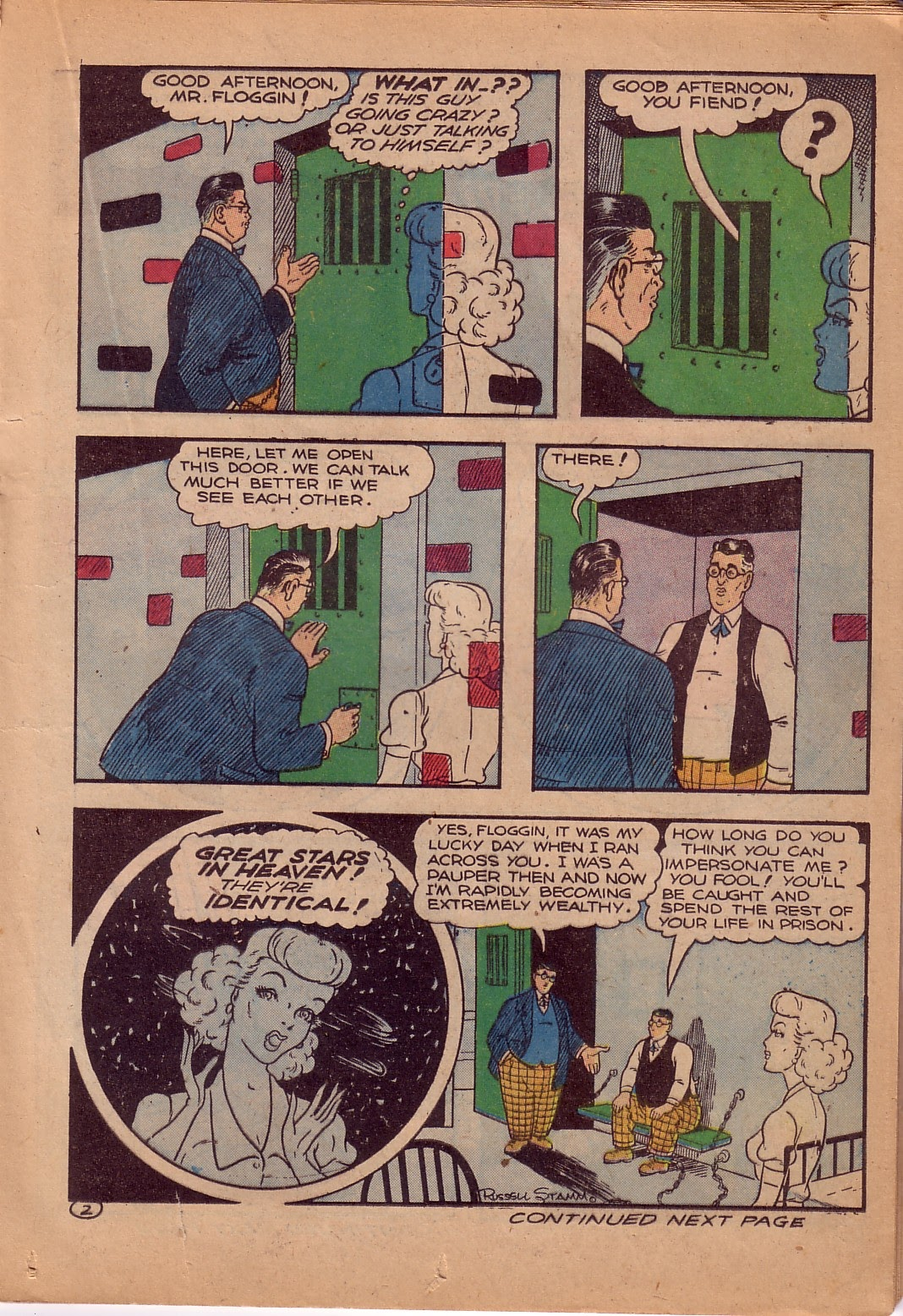 Read online Famous Funnies comic -  Issue #107 - 28