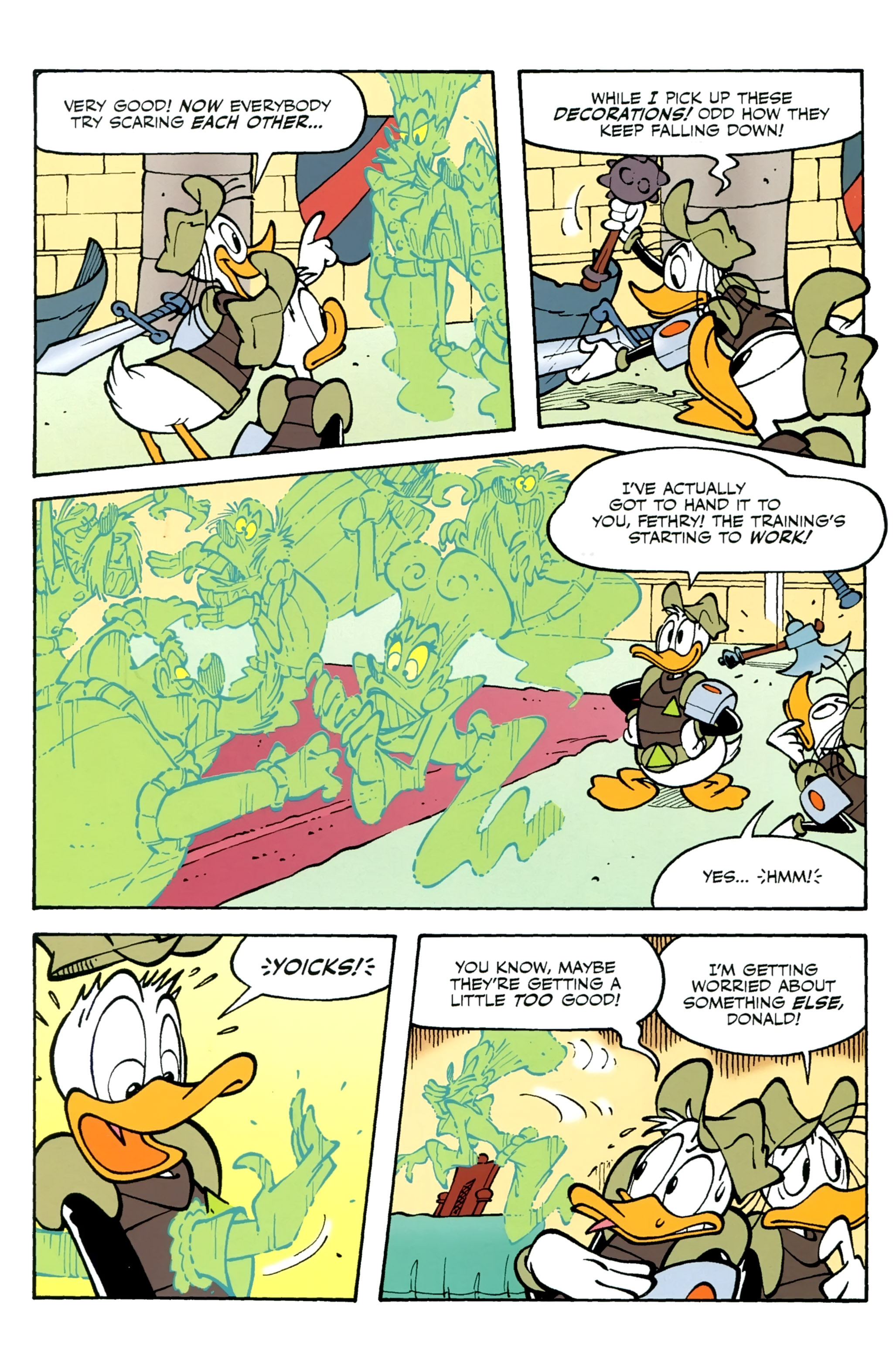 Read online Donald Duck (2015) comic -  Issue #13 - 21