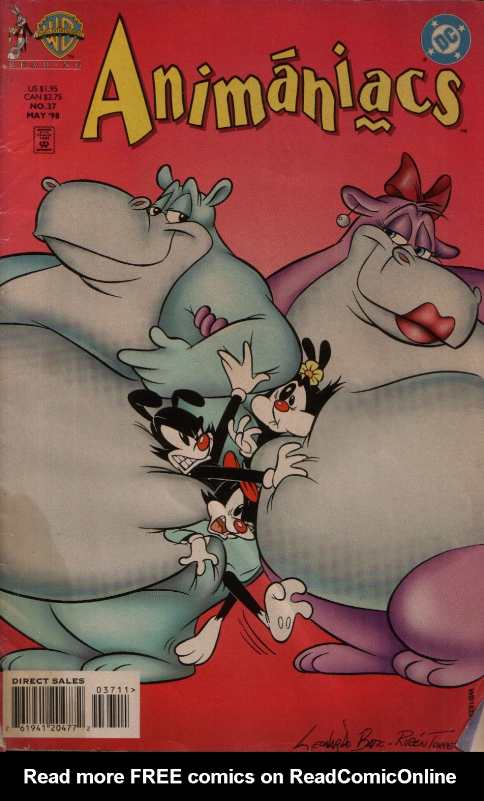 Animaniacs (1995) issue 37 - Page 1