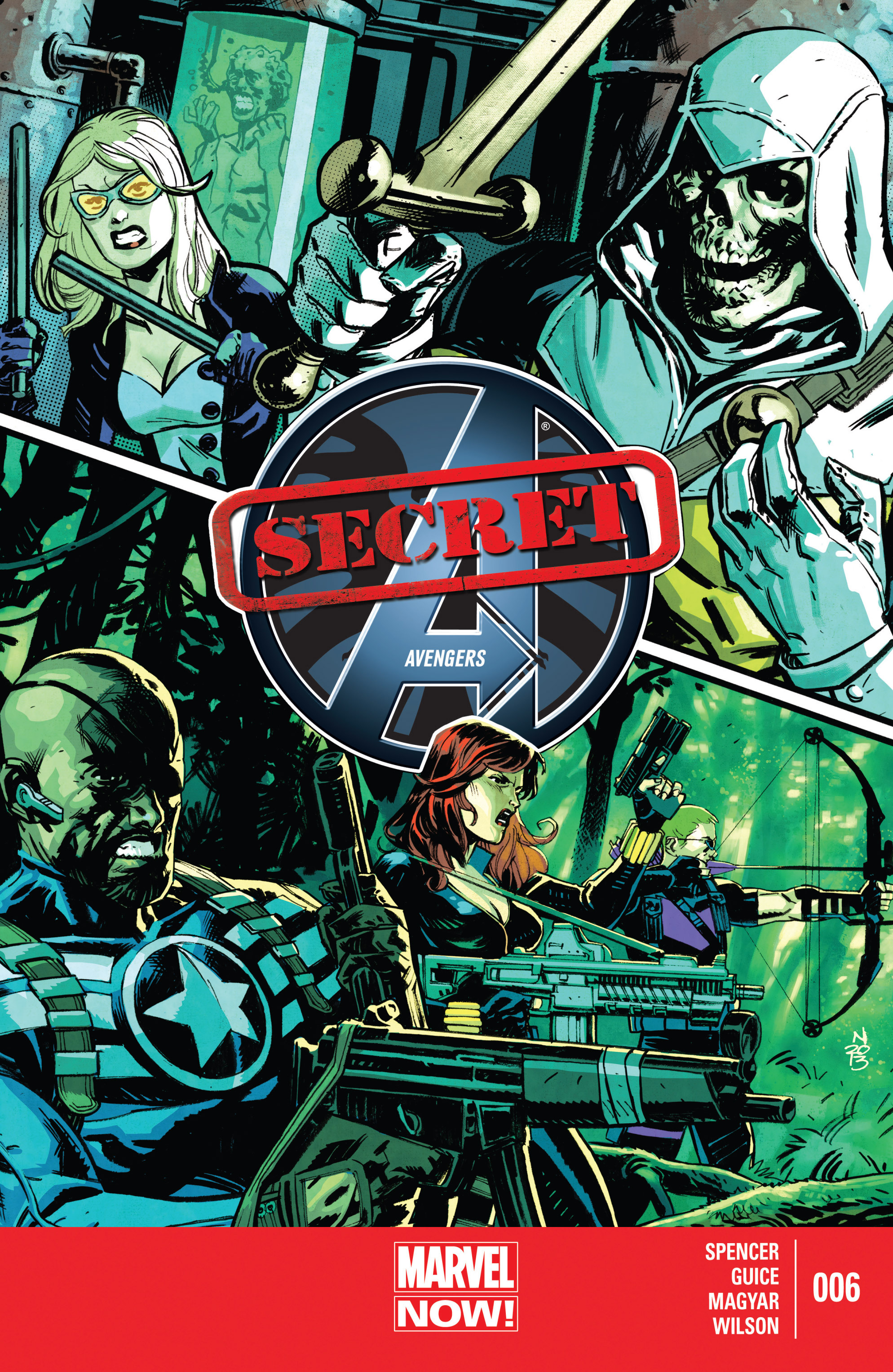 Read online Secret Avengers (2013) comic -  Issue #6 - 1