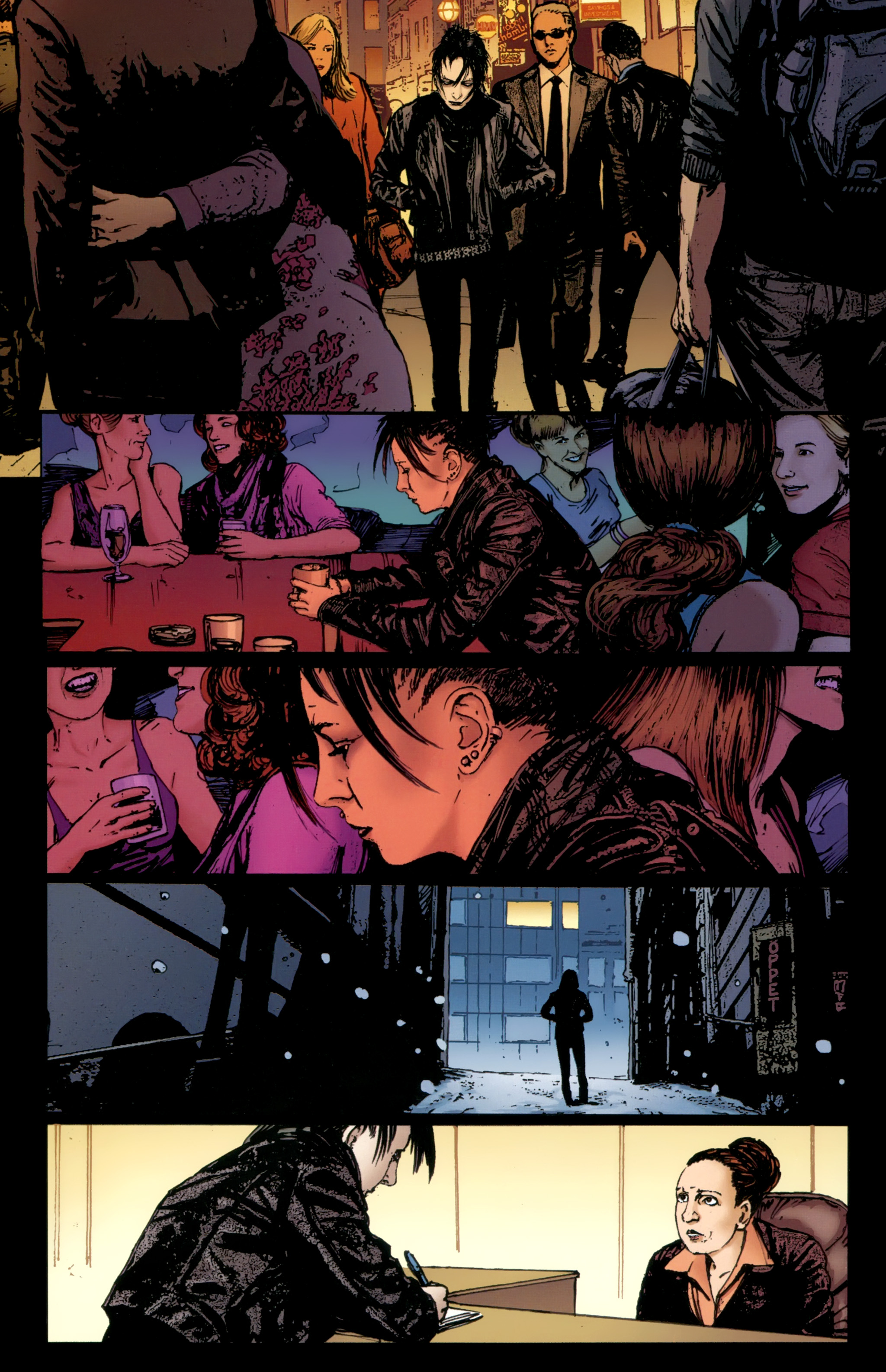 Read online The Girl With the Dragon Tattoo comic -  Issue # TPB 2 - 154