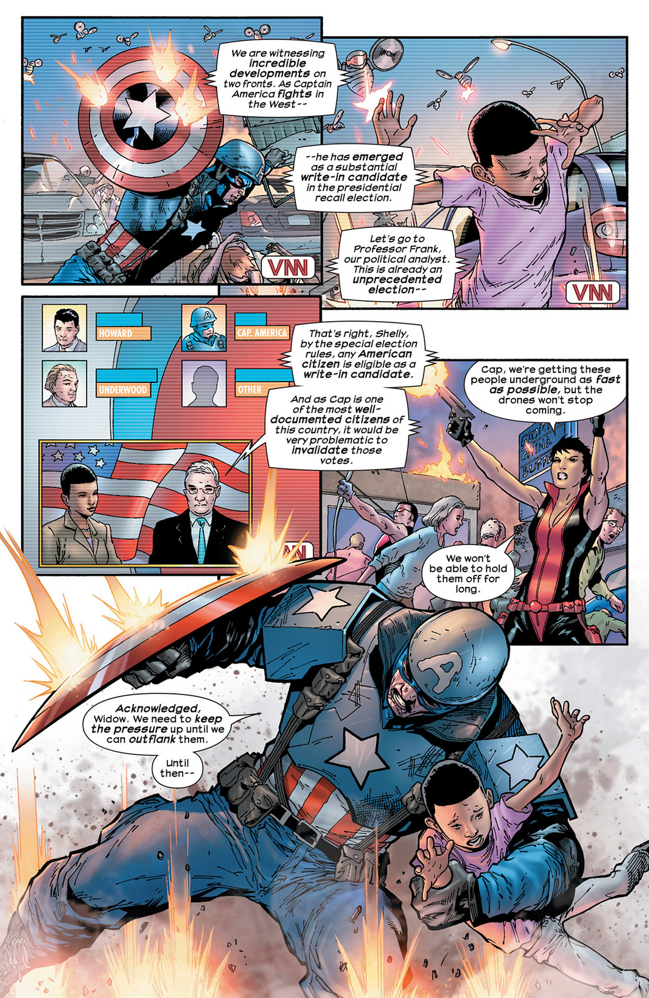 Read online Ultimate Comics Ultimates comic -  Issue #15 - 18