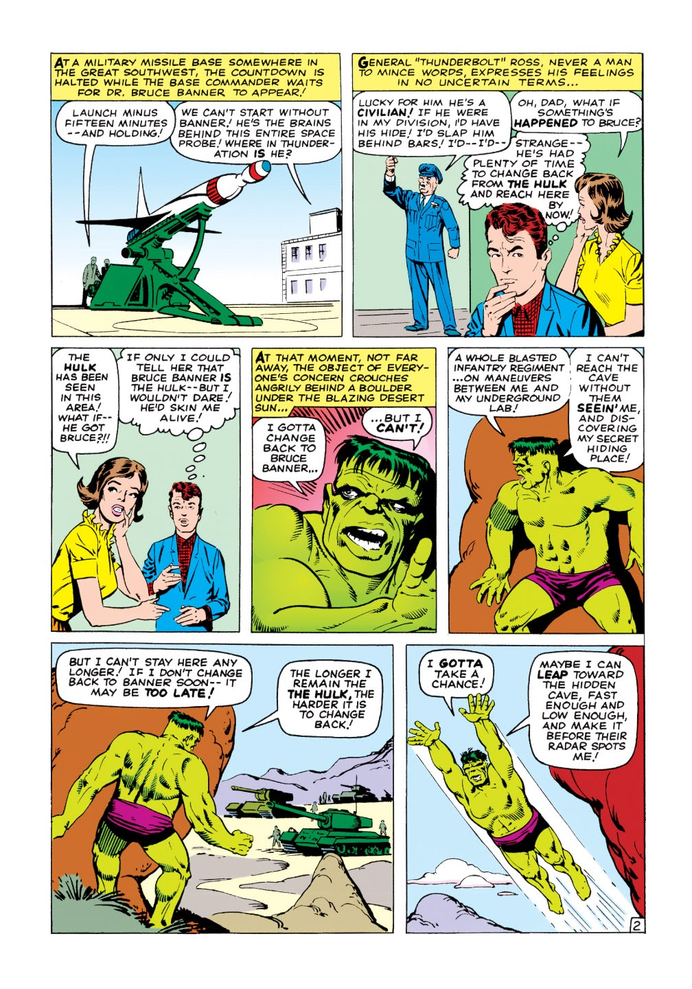 Read online Marvel Masterworks: The Incredible Hulk comic -  Issue # TPB 1 (Part 2) - 31