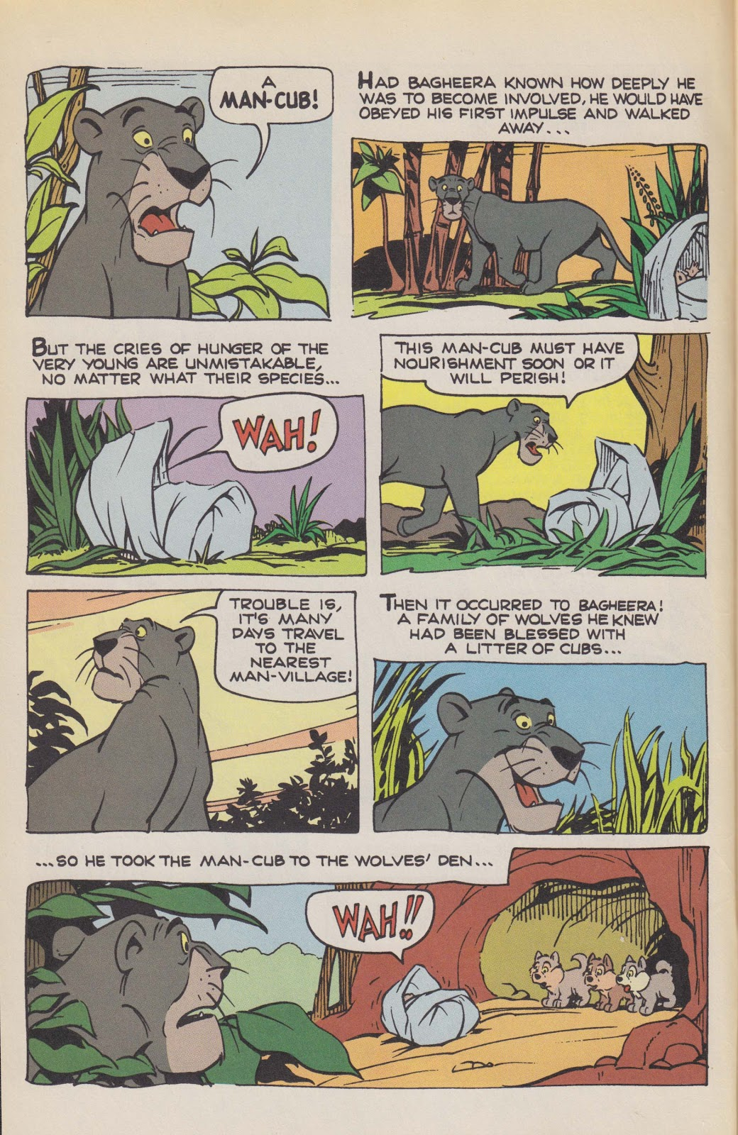 Read online The Jungle Book comic -  Issue # Full - 4