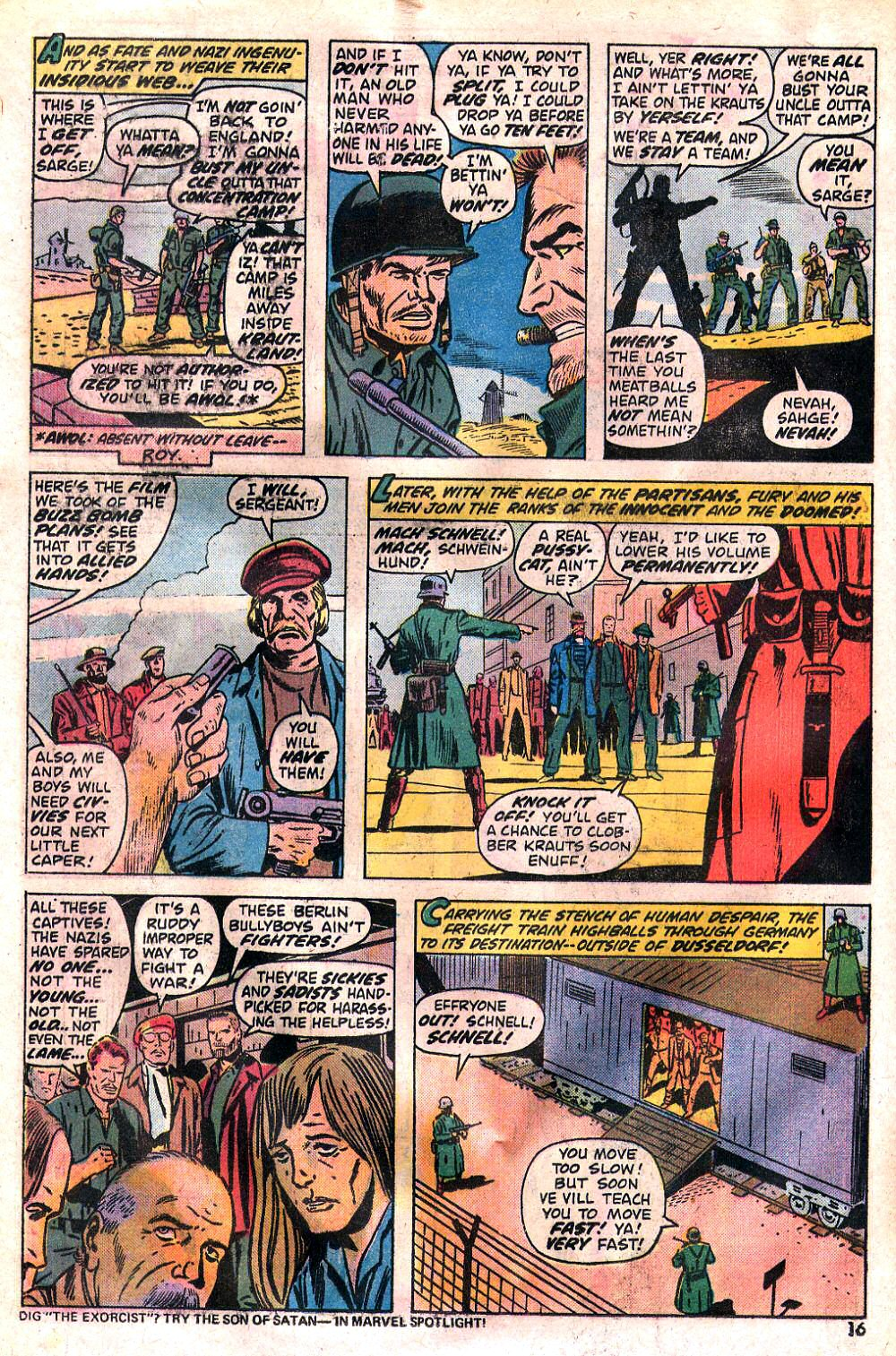 Read online Sgt. Fury comic -  Issue #120 - 18
