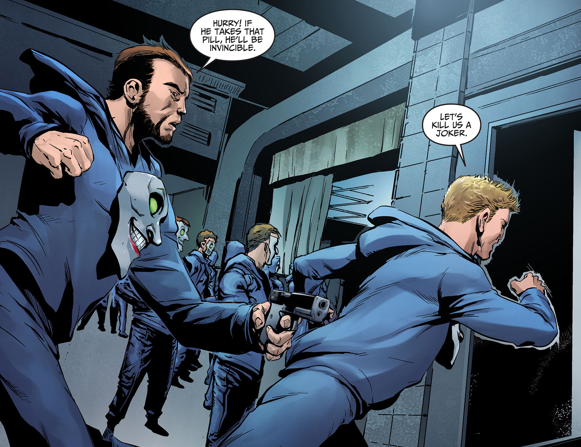Read online Injustice: Ground Zero comic -  Issue #5 - 21