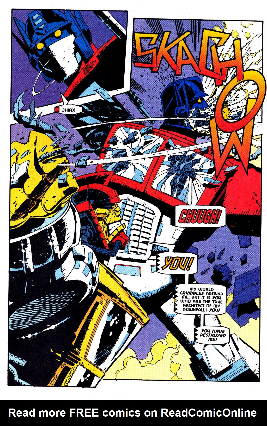 Read online Transformers: Generation 2 comic -  Issue #12 - 15