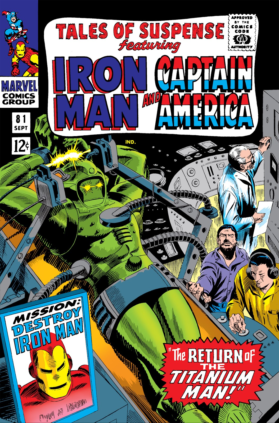 Read online Marvel Masterworks: The Invincible Iron Man comic -  Issue # TPB 3 (Part 4) - 48