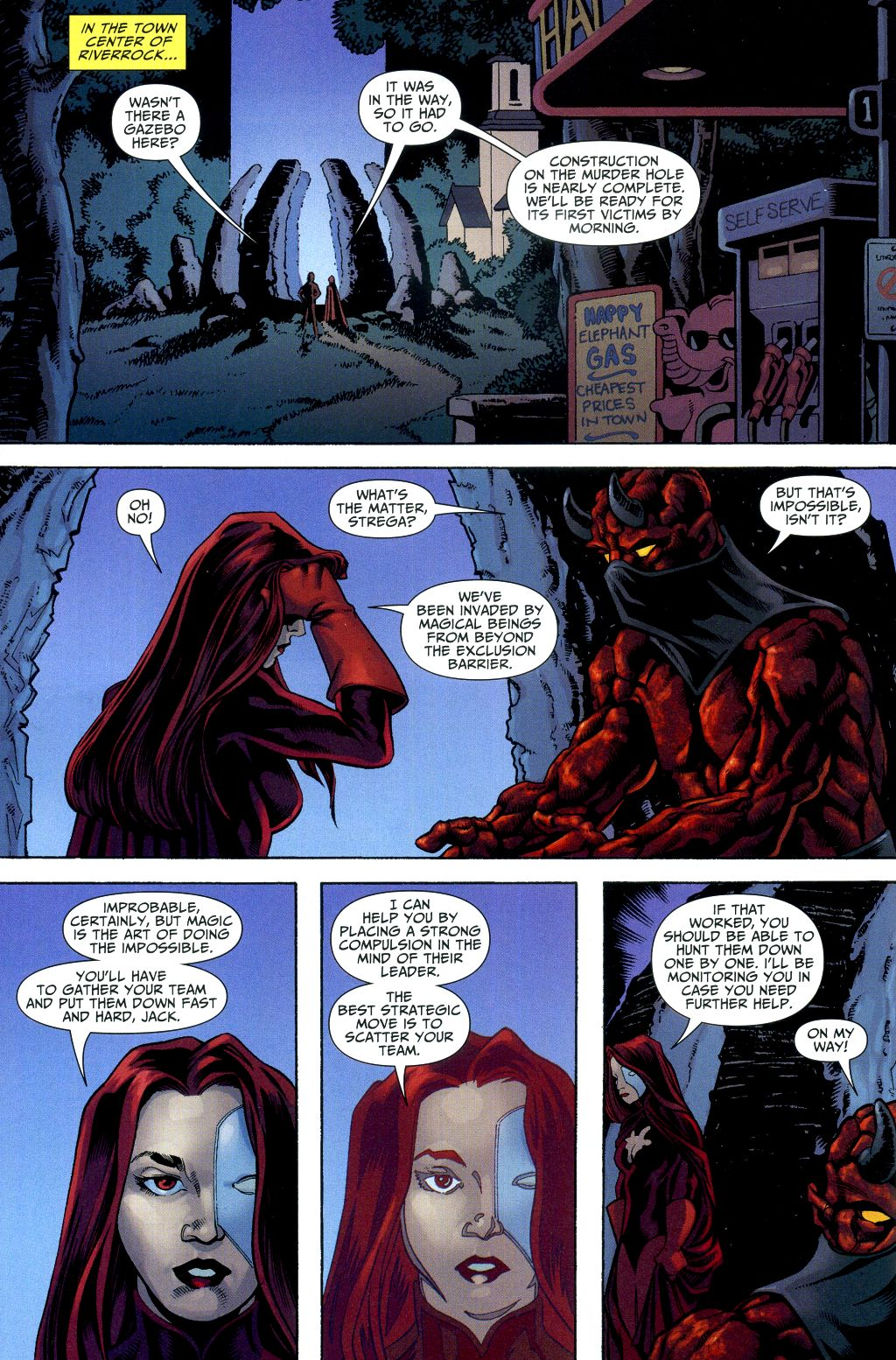 Read online Shadowpact comic -  Issue #2 - 4