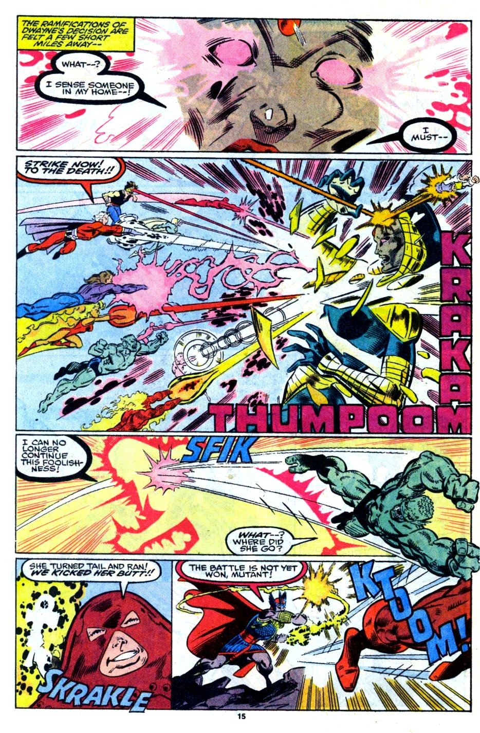 The New Warriors Issue #13 #17 - English 12