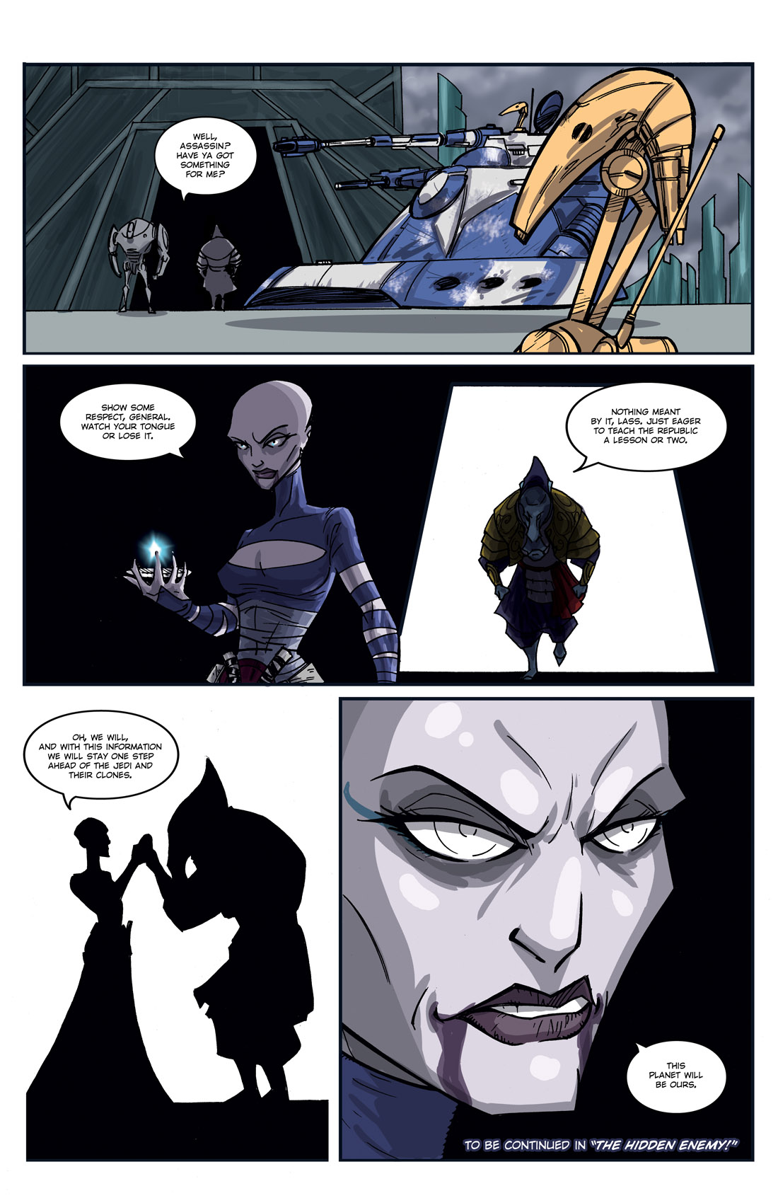 Read online Star Wars: Tales From The Clone Wars comic -  Issue # TPB - 116