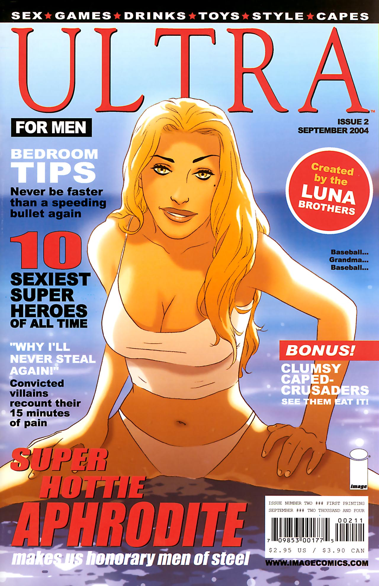Read online Ultra comic -  Issue #2 - 1