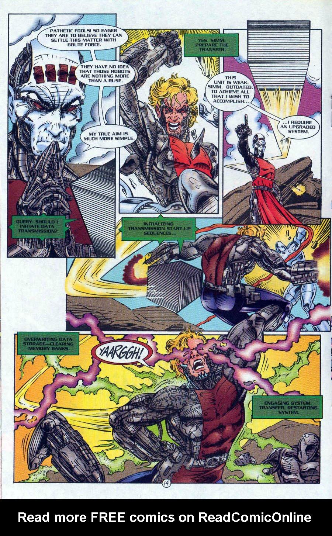 Read online Ex-Mutants comic -  Issue #18 - 14