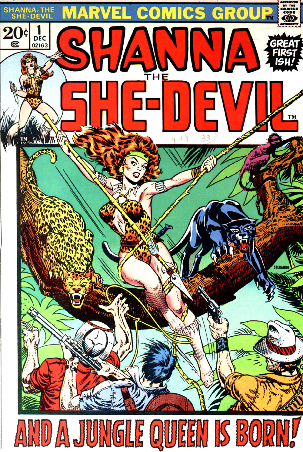Read online Shanna, the She-Devil (1972) comic -  Issue #1 - 1