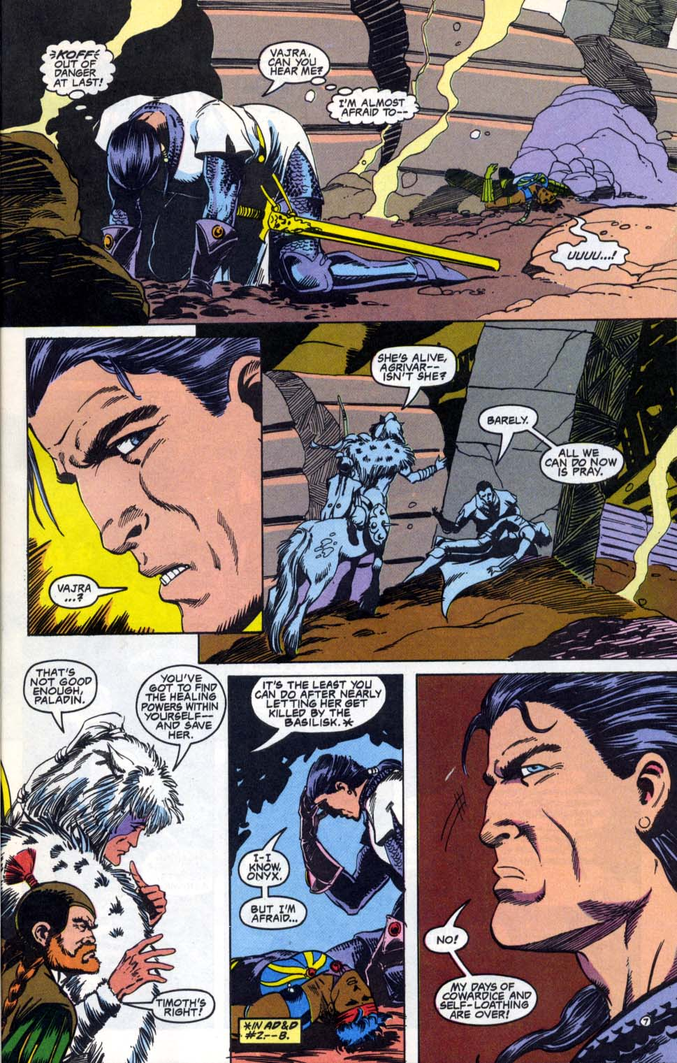 Read online Advanced Dungeons & Dragons comic -  Issue #4 - 7