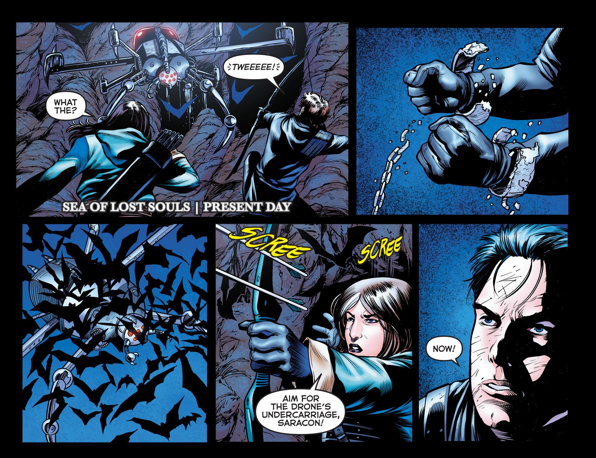 Read online Arrow: The Dark Archer comic -  Issue #10 - 5