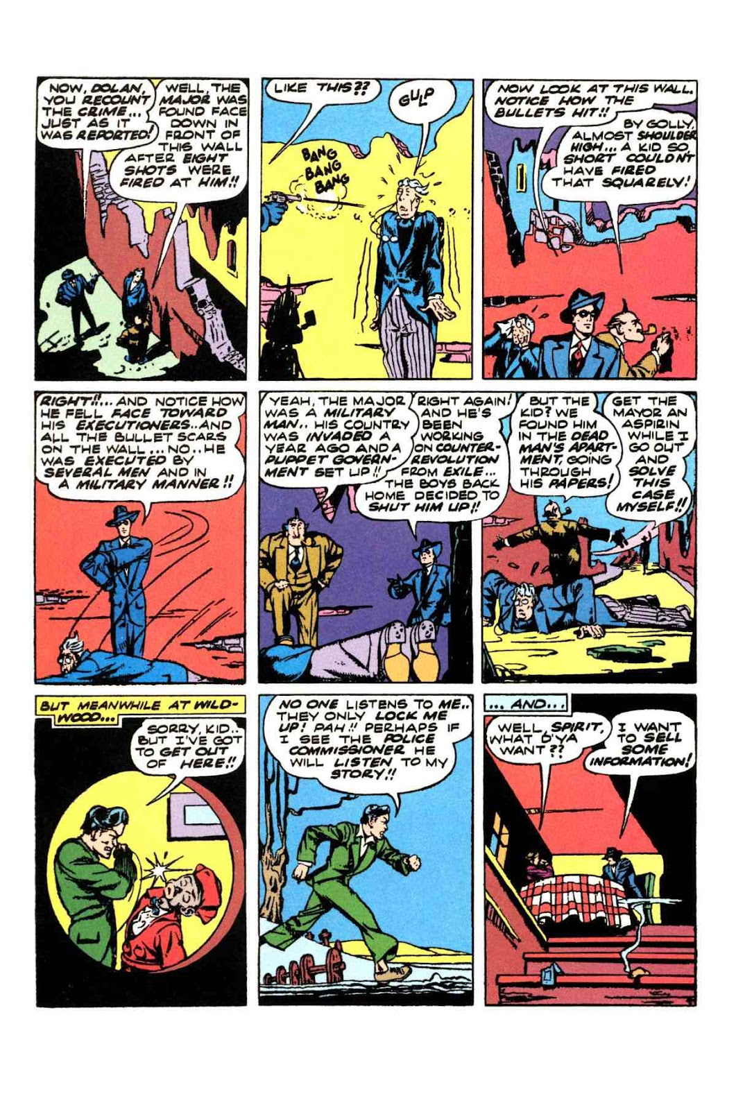 Read online Will Eisner's The Spirit Archives comic -  Issue # TPB 3 (Part 1) - 37