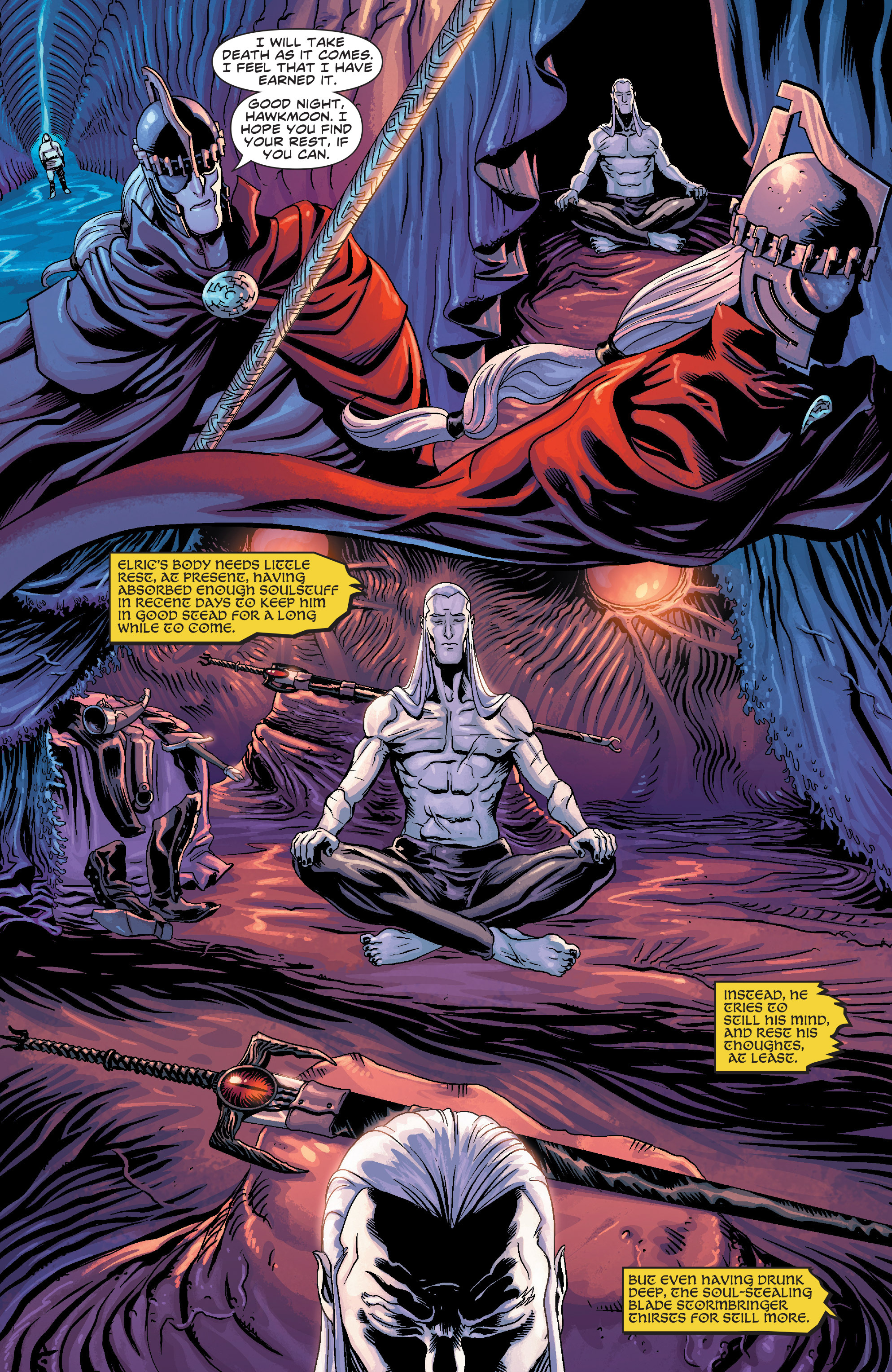 Read online Elric: The Balance Lost comic -  Issue # TPB 3 - 14