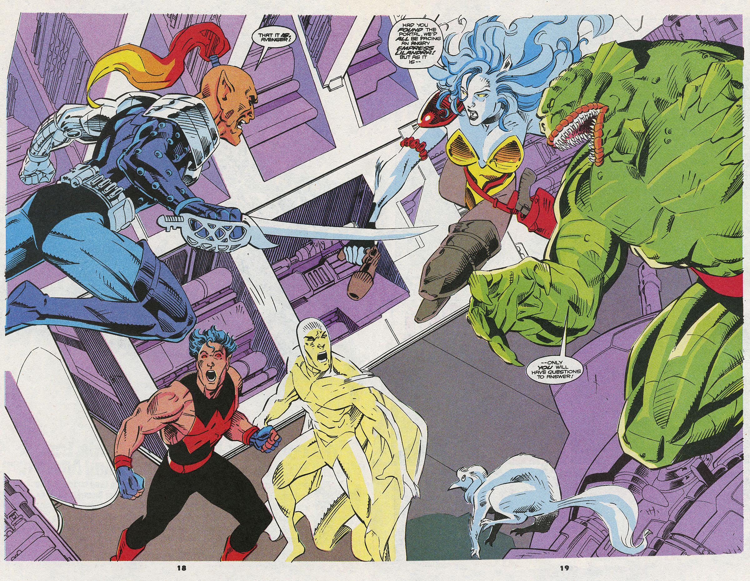 Read online Wonder Man (1991) comic -  Issue #8 - 12