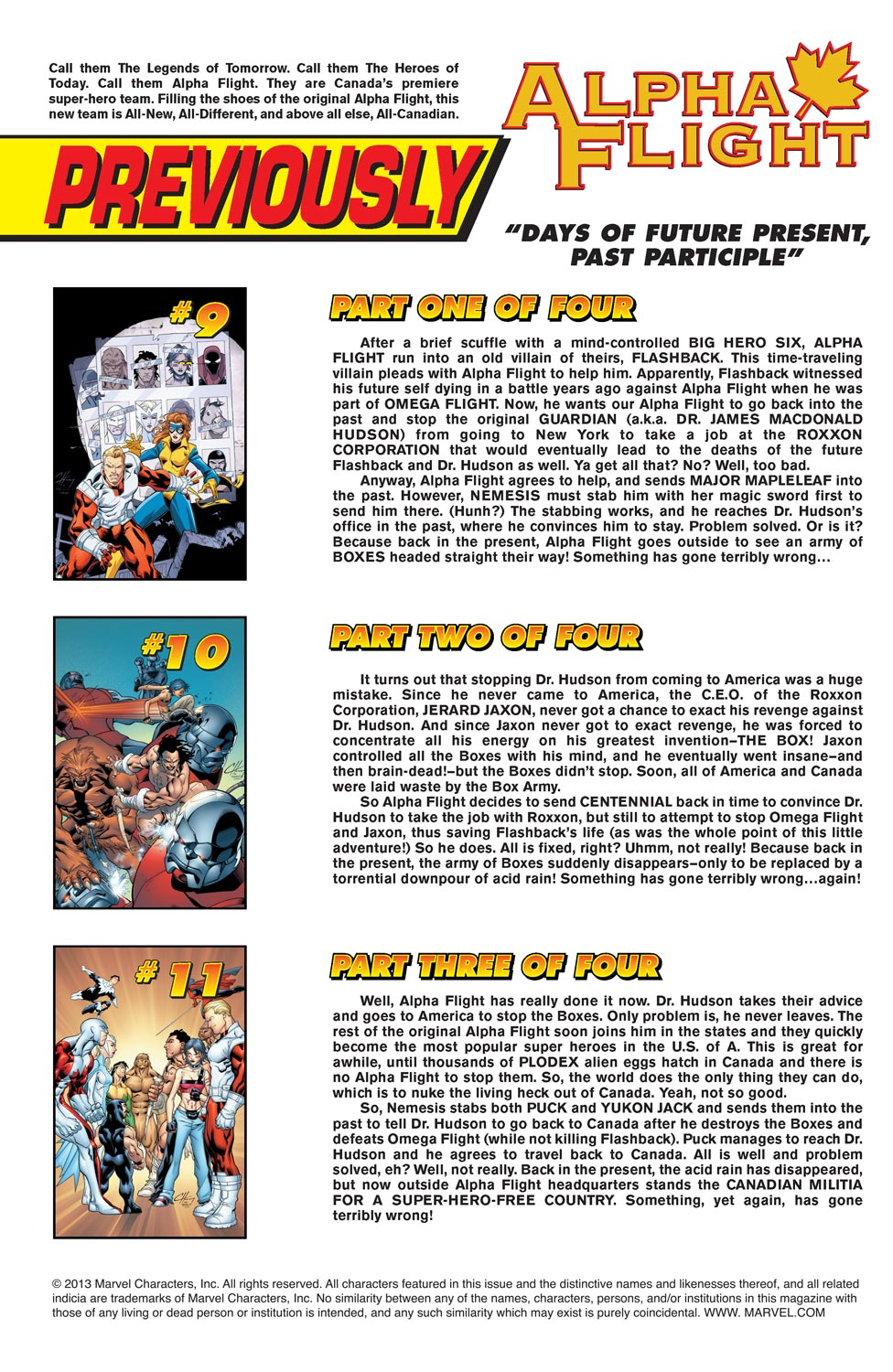 Alpha Flight (2004) 12 Page 2
