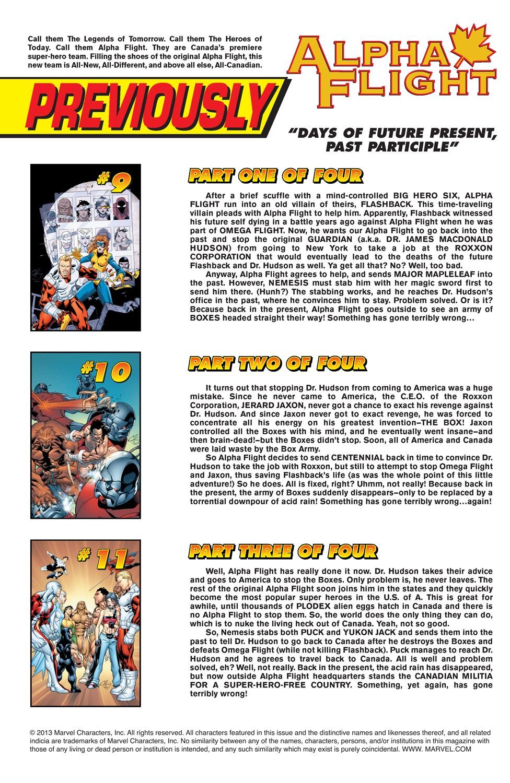 Alpha Flight (2004) issue 12 - Page 2