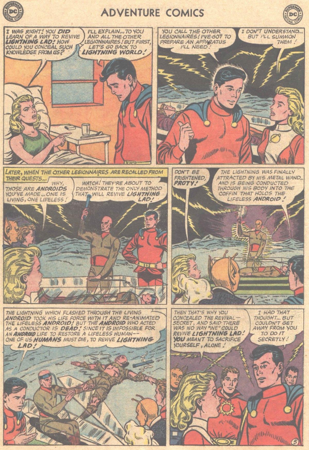 Read online Adventure Comics (1938) comic -  Issue #312 - 16