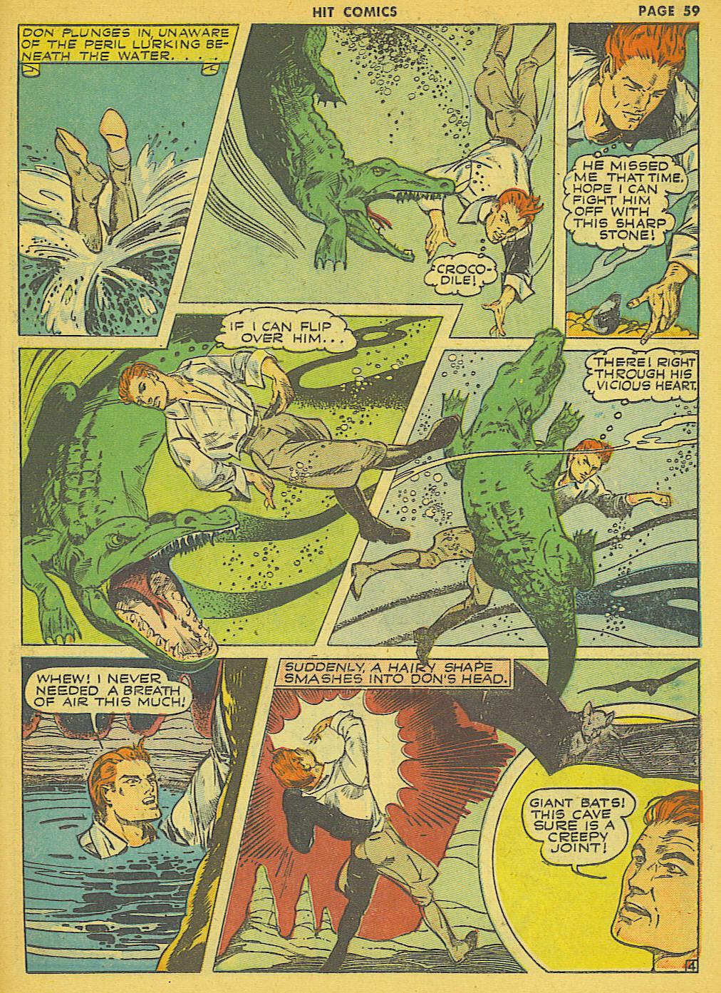 Read online Hit Comics comic -  Issue #21 - 61