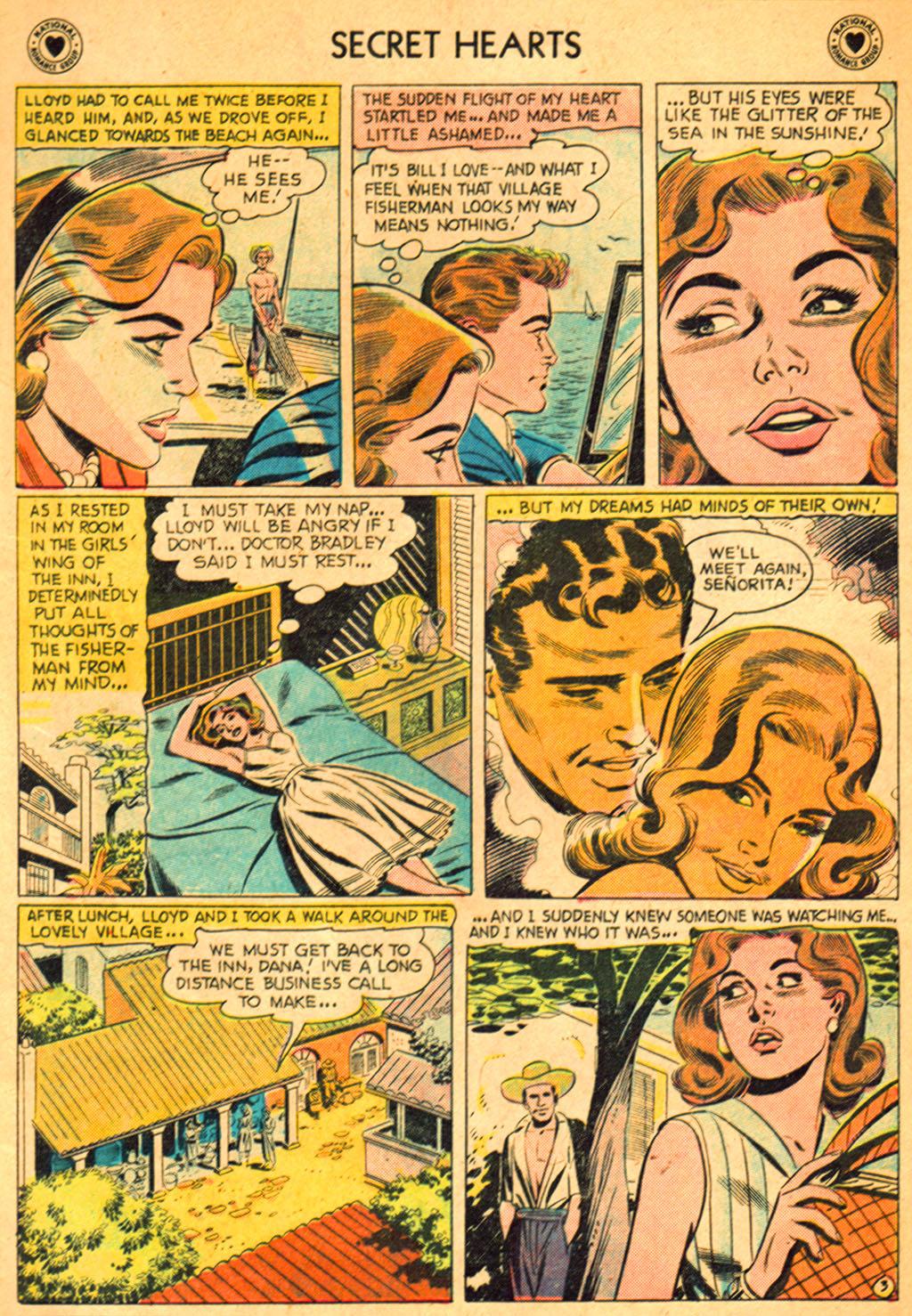 Read online Secret Hearts comic -  Issue #51 - 5