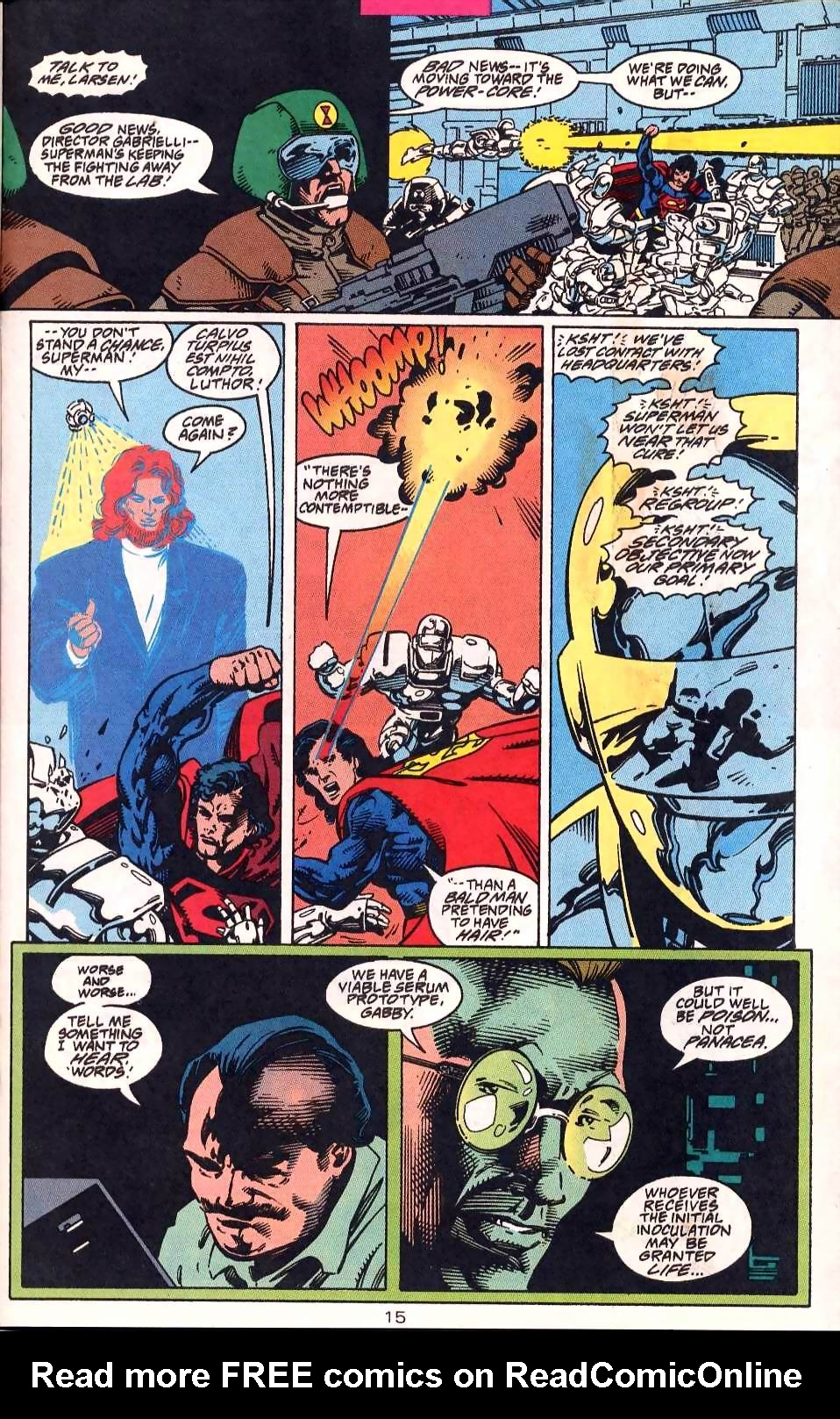 Read online Adventures of Superman (1987) comic -  Issue #513 - 16