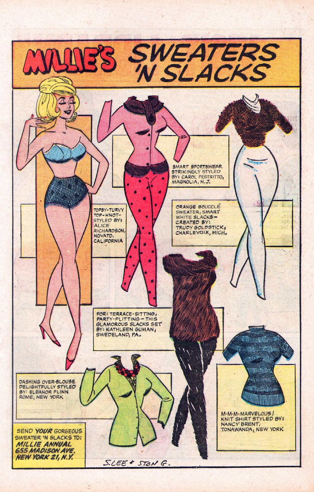 Read online Millie the Model comic -  Issue # Annual 2 - 49