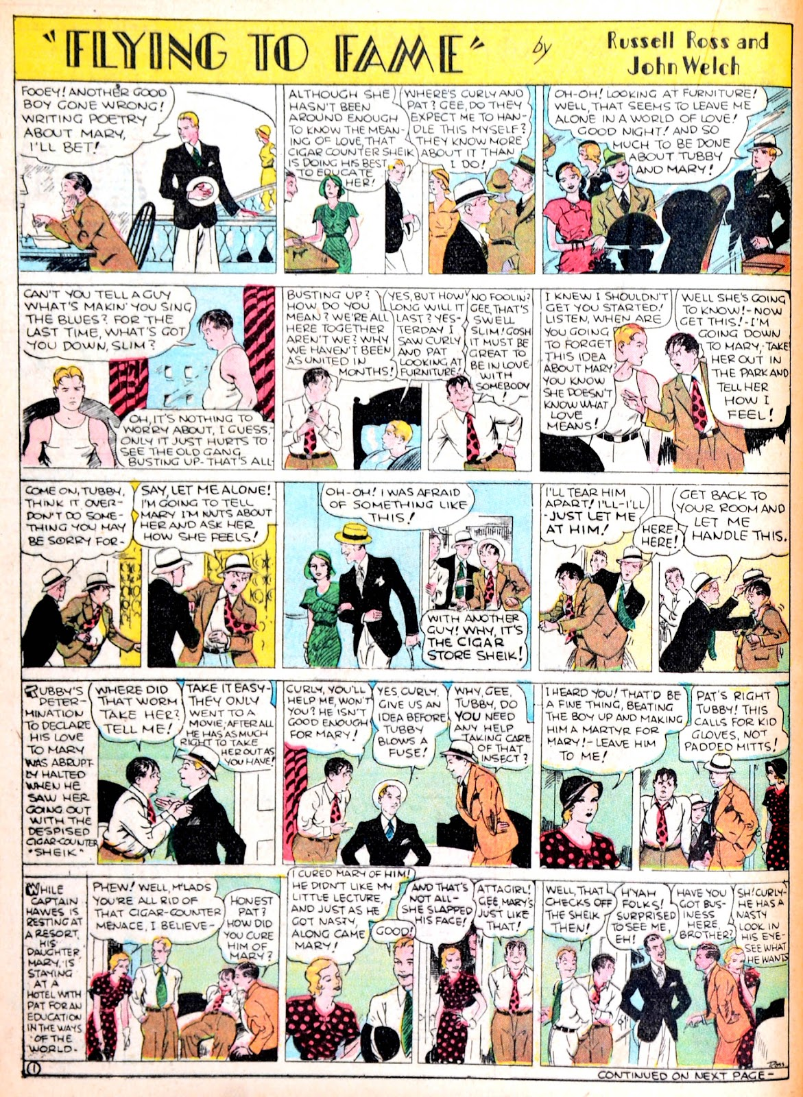 Read online Famous Funnies comic -  Issue #13 - 30