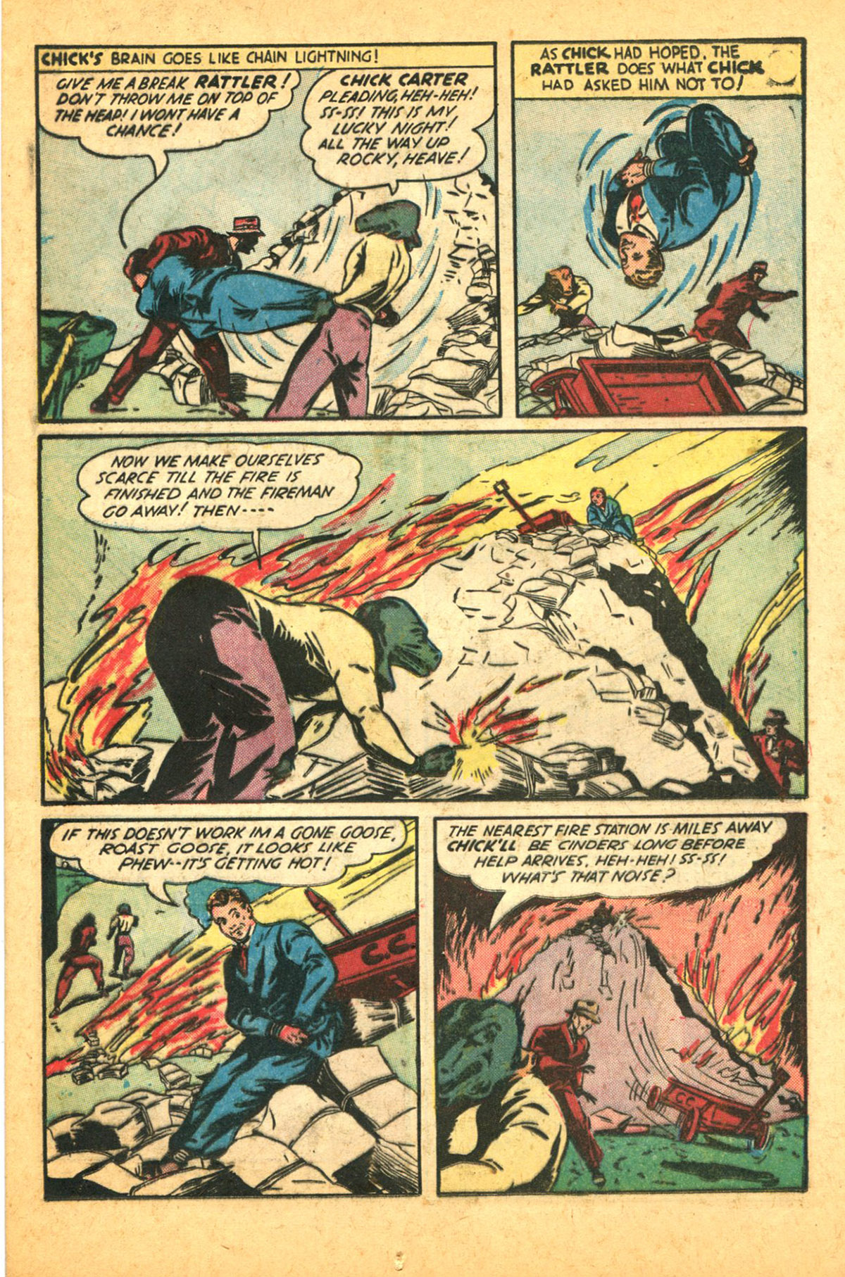 Read online Shadow Comics comic -  Issue #38 - 31
