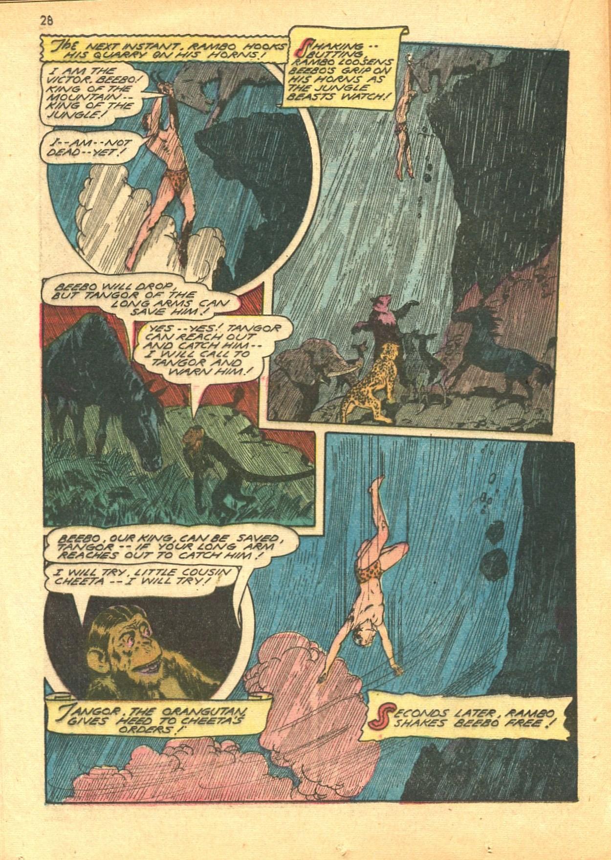 Read online Shadow Comics comic -  Issue #24 - 28