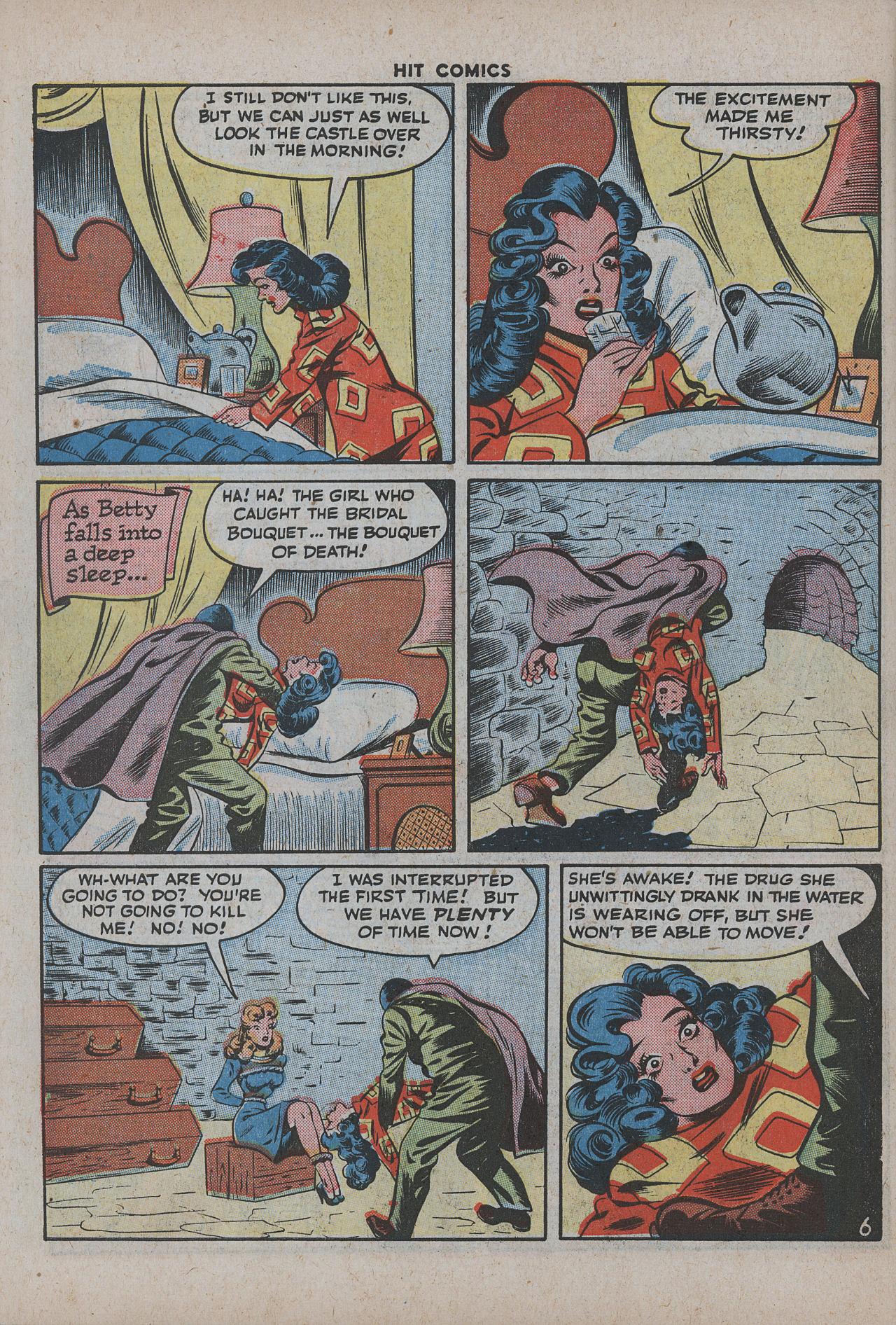 Read online Hit Comics comic -  Issue #38 - 59