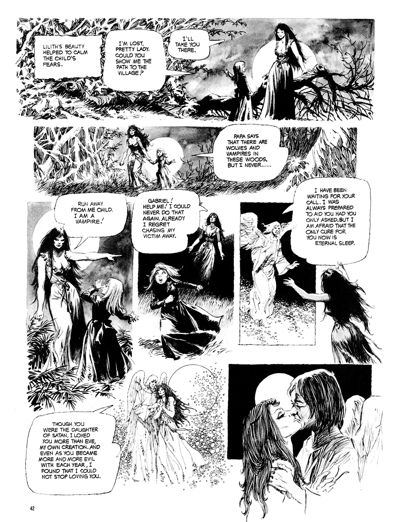 Read online Eerie Archives comic -  Issue # TPB 10 - 43