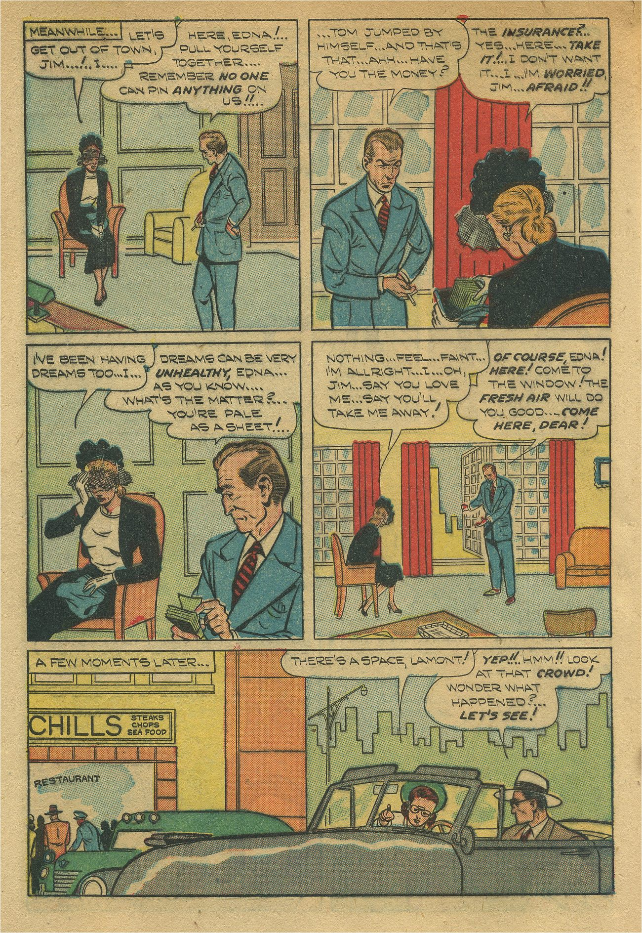 Read online Shadow Comics comic -  Issue #93 - 9