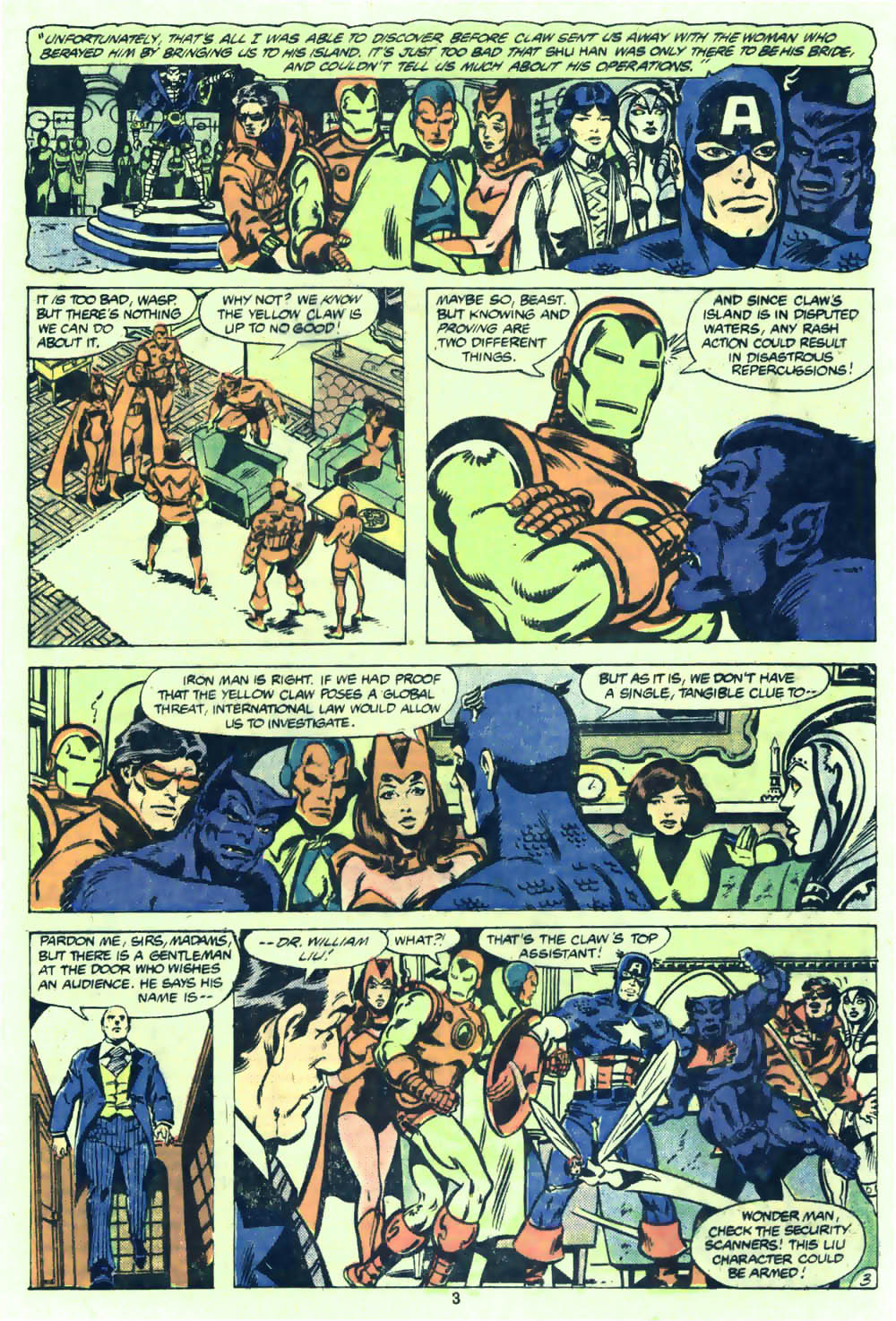 The Avengers (1963) 205 Page 3