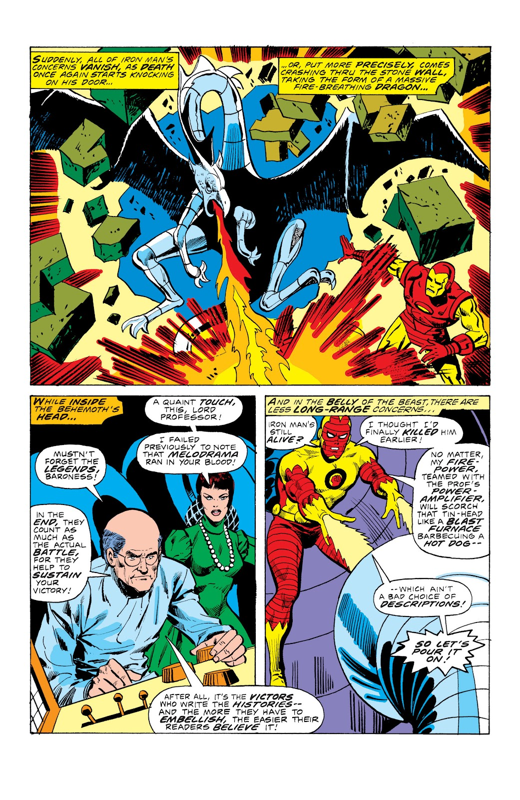 Read online Marvel Masterworks: The Invincible Iron Man comic -  Issue # TPB 10 (Part 3) - 44