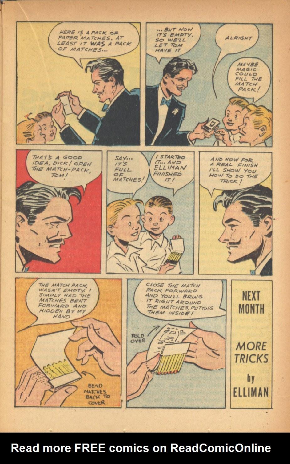 Read online Super-Magician Comics comic -  Issue #47 - 21