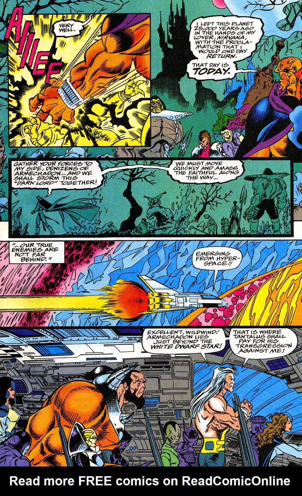 Read online Blackwulf comic -  Issue #8 - 8