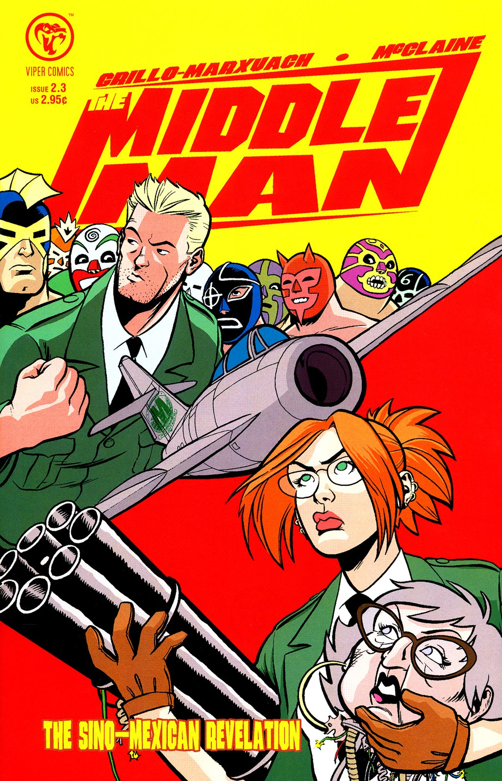 Read online The Middleman (2006) comic -  Issue #3 - 1