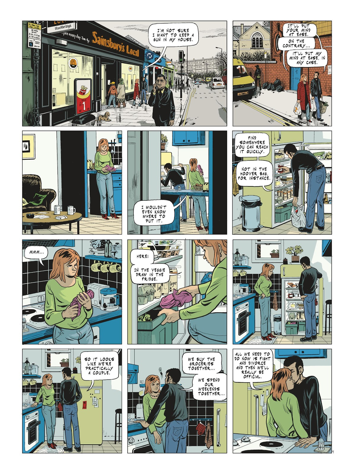 Read online Maggy Garrisson comic -  Issue #3 - 6