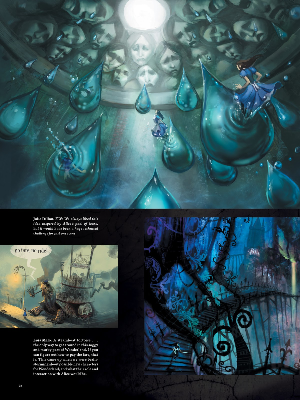 Read online The Art of Alice: Madness Returns comic -  Issue # TPB (Part 1) - 32